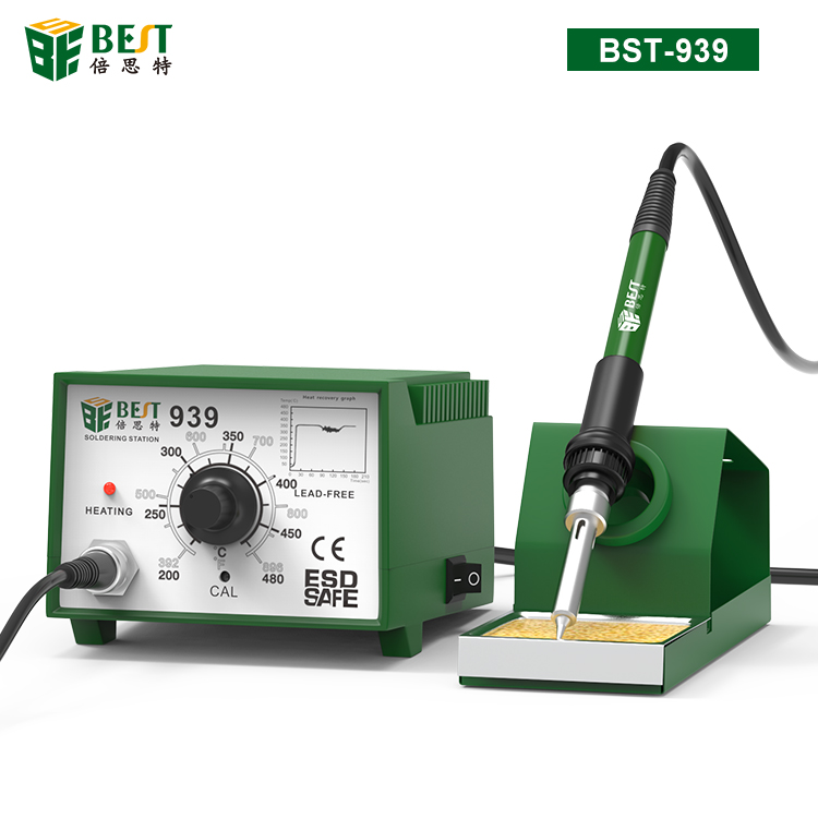 BST-939 Intelligent temperature control lead free desoldering and soldering station