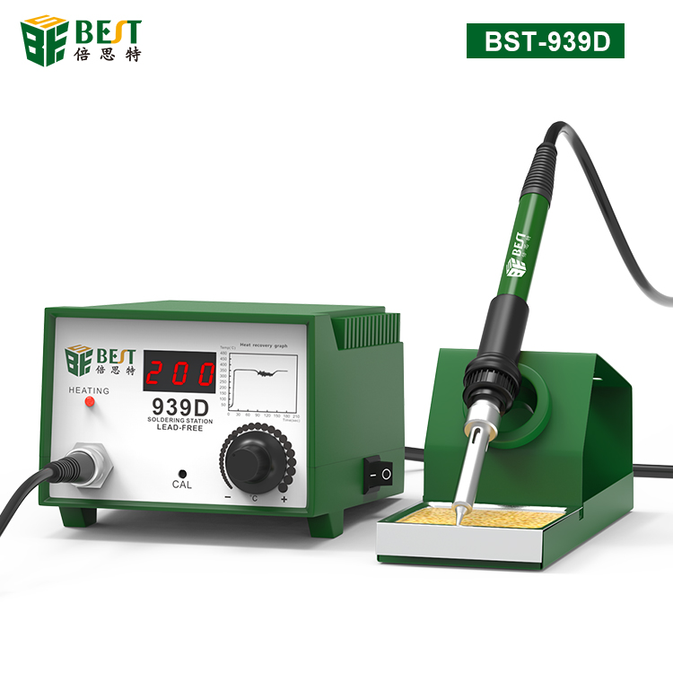 BST-939D LED intelligent lead-free and antistatic soldering station