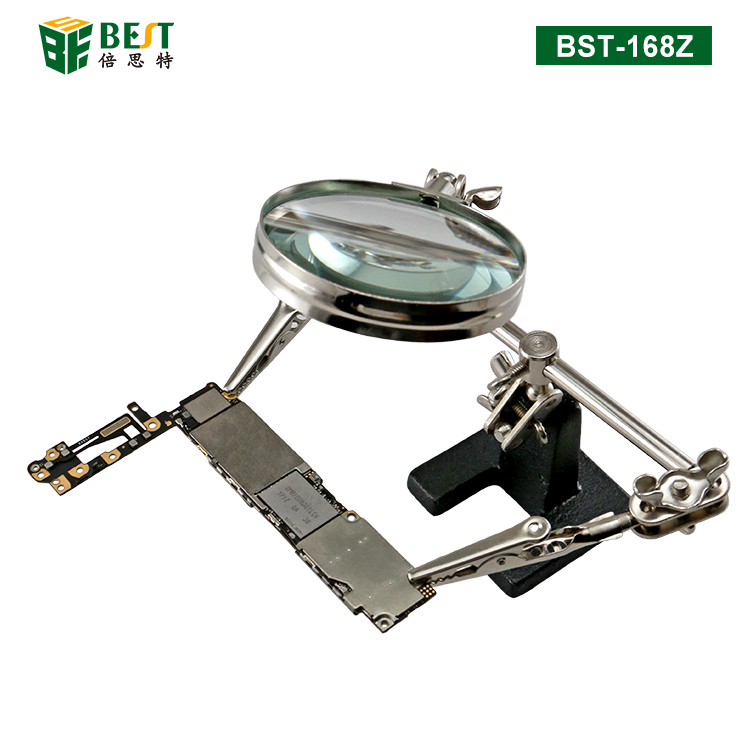 BST-168Z Magnifier with clips