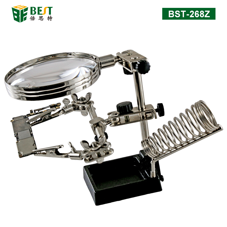 BST-268Z Magnifier with clips