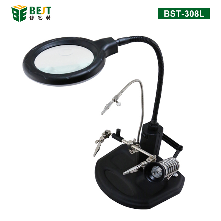 BST-308L Magnifier with auxiliary clip